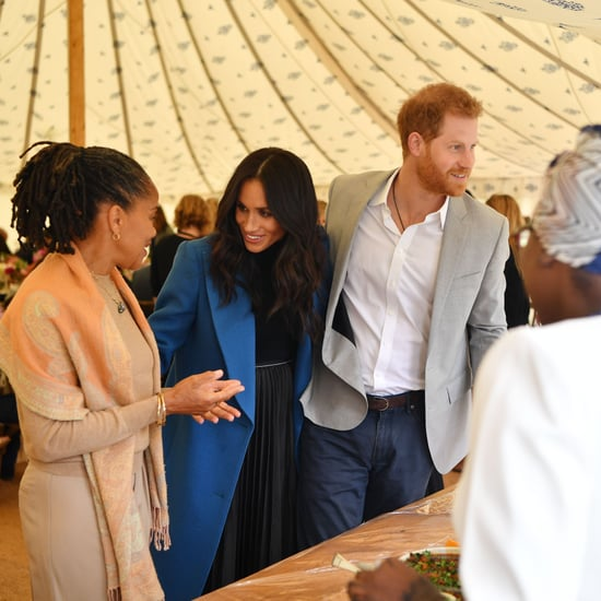Prince Harry Taking Samosas at Meghan Markle Cookbook Event