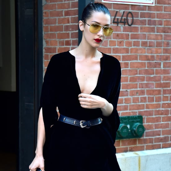 Bella Hadid's Yellow Sunglasses