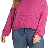 BP. Plaited Drop Shoulder Sweater