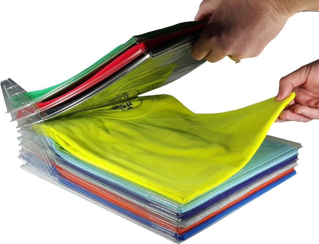 Closet Organizer and Shirt Folder