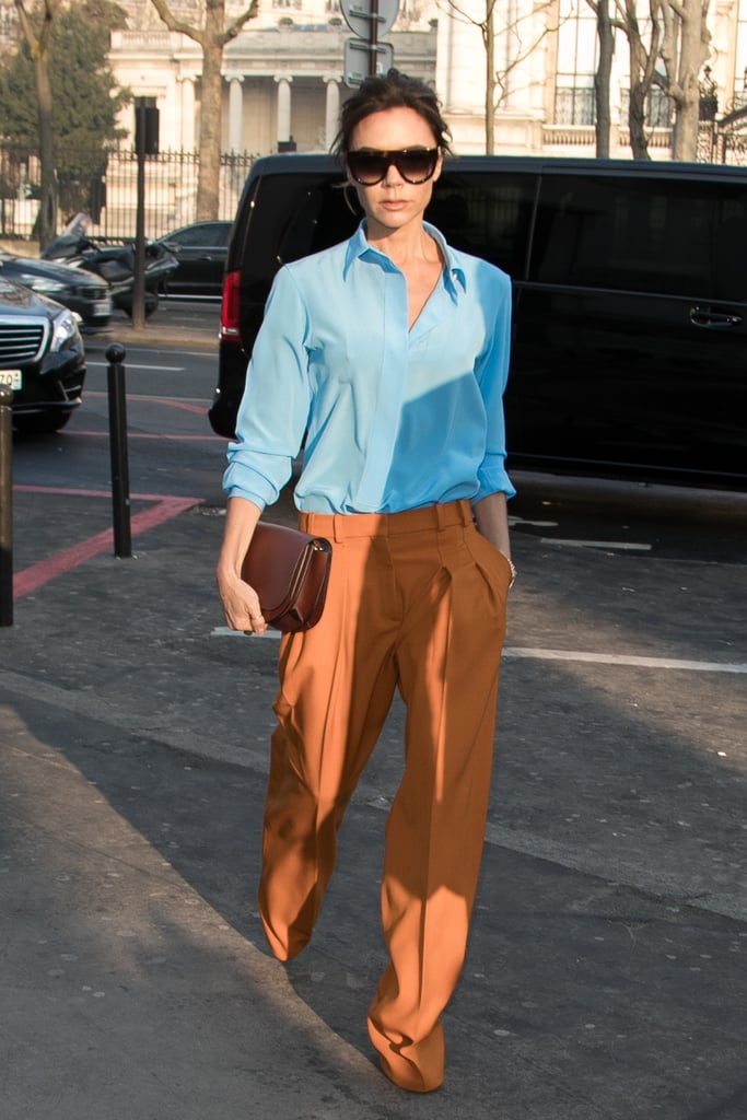 Victoria Beckham Mixed 2 Colours Few Would Dare to Wear
