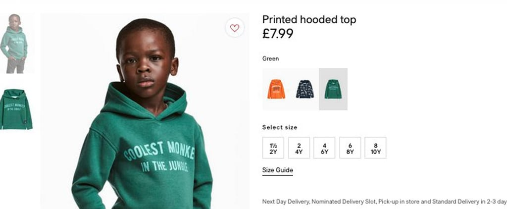 "H&M Faces Backlash After Having a Black Child Model in ""Monkey"" Hoodie"