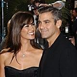 Catherine Zeta-Jones had all eyes on George Clooney in September 2003.