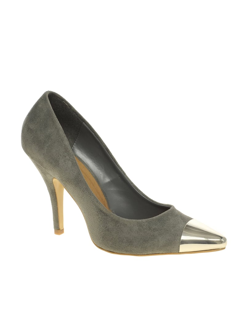 Asos Sidney Point Court Shoes with Metal Toe Cap ($81)
