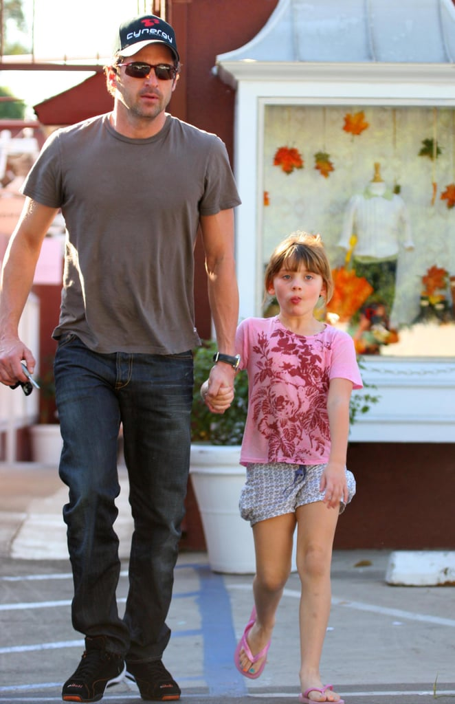 Patrick and Tallulah Dempsey Enjoy Father-Daughter Day