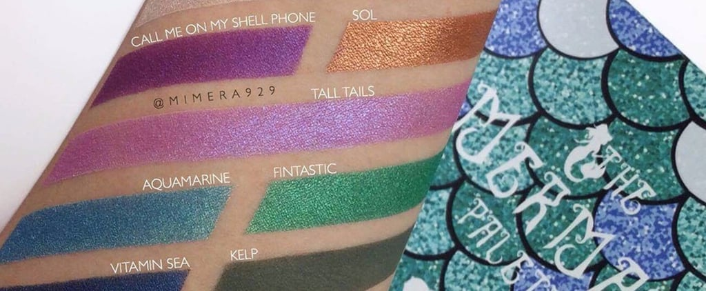 This Mermaid Palette Isn't a Shellfish Purchase — You'll Donate to a Good Cause