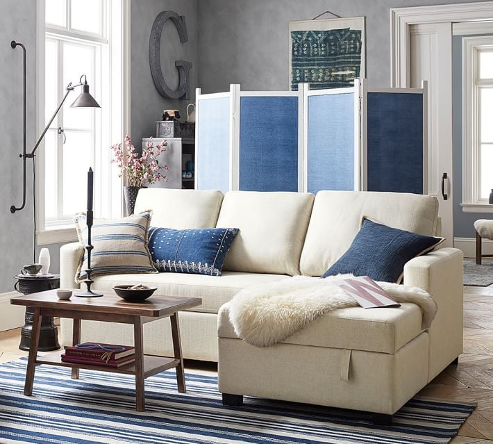 Pottery Barn Small Space Collection POPSUGAR Home - Pottery barn small coffee table