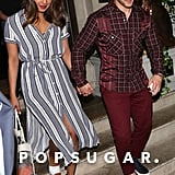 Nick and Joe Jonas Double Date With Priyanka and Sophie 2018