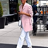 Tracee Ellis Ross's White Boots 2018