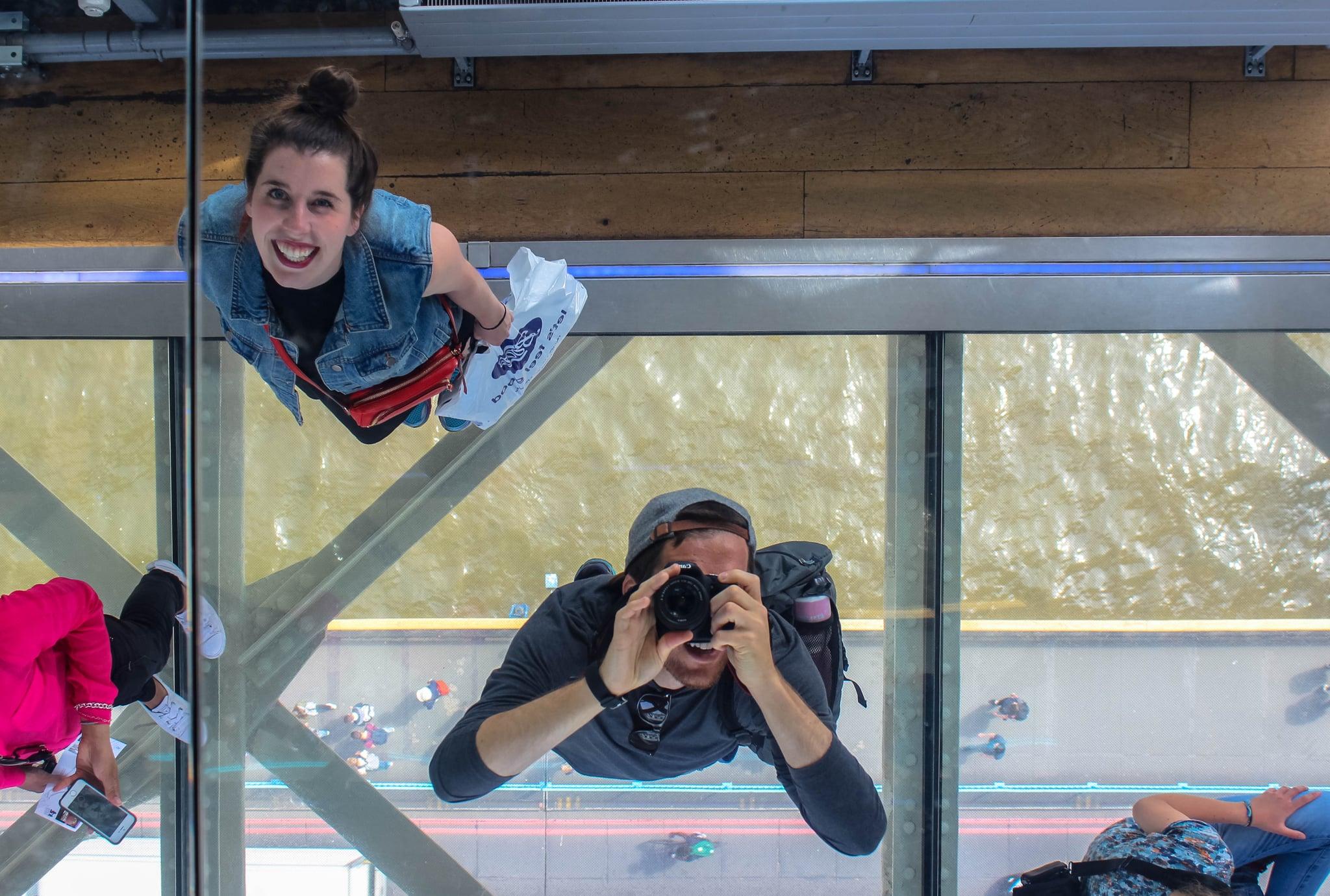 Walk Across Tower Bridge S Thrilling Glass Floor Walkway 22