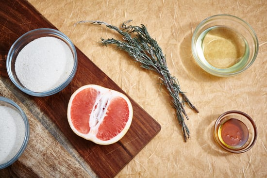 DIY Beauty | Grapefruit and Rosemary Sugar Body Scrub