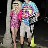 Fergie and Josh Duhamel as Angelyne and Dennis Woodruff