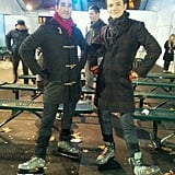 Does this mean we can look forward to a Klaine redux, or are those skates used dangerously? Source: Twitter user chriscolfer