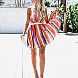 Milky Way Striped Dress