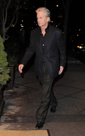 Pictures of Michael Douglas and Catherine Zeta-Jones Out in New York, Michael Douglas Cancer Tumour Is Gone