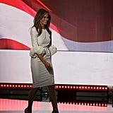 Melania Trump Wearing the White Roksanda Dress at the RNC