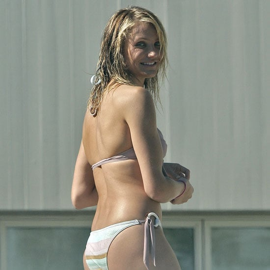 Cameron diaz see through bikini sorry