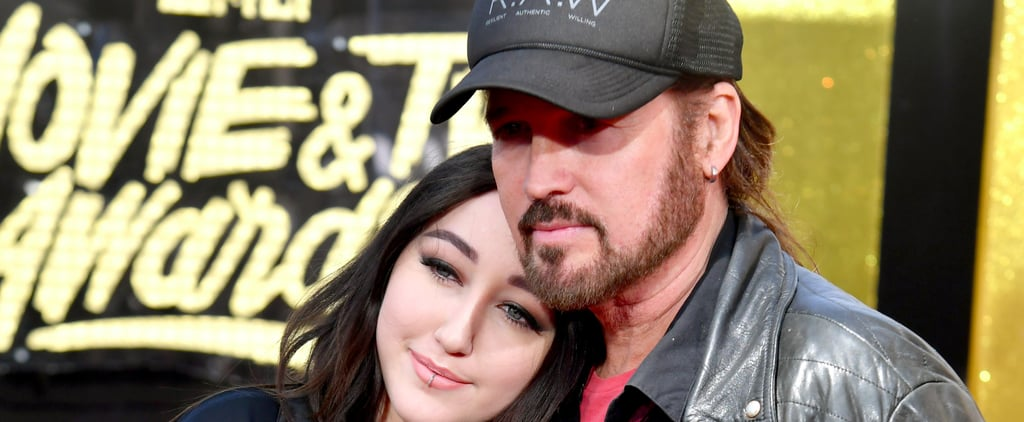 Billy Cyrus Is a Total Stage Dad For Noah at the MTV Movie and TV Awards