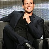 Parker Young participated in a panel discussion about Enlisted at the Summer TCA Tour.
