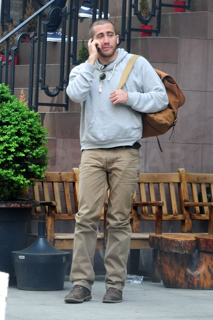 Jake Gyllenhaal Grabs His Gear and Heads to NYC For Coffee and a Chat
