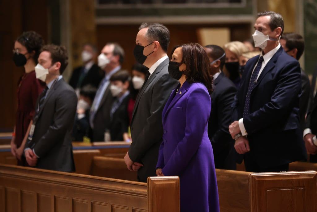 Kamala Harris's Christopher John Rogers Coat at Inauguration
