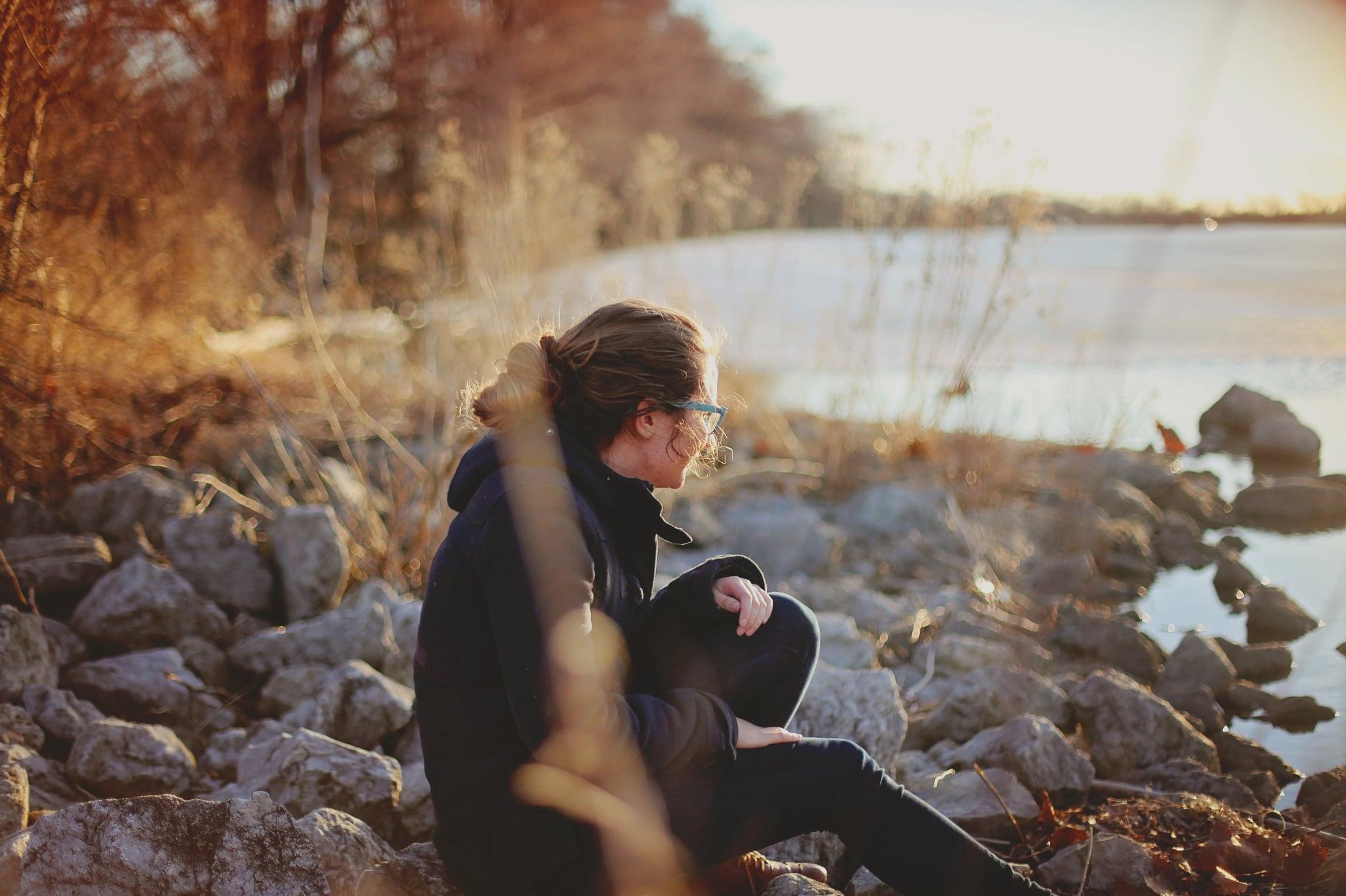 adult alone autumn