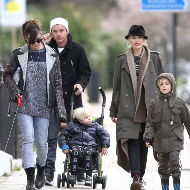 Gwen Stefani and Gavin Rossdale in London | Pictures