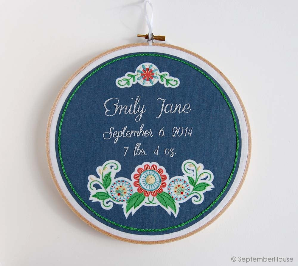 DIY Embroidery Project Starter