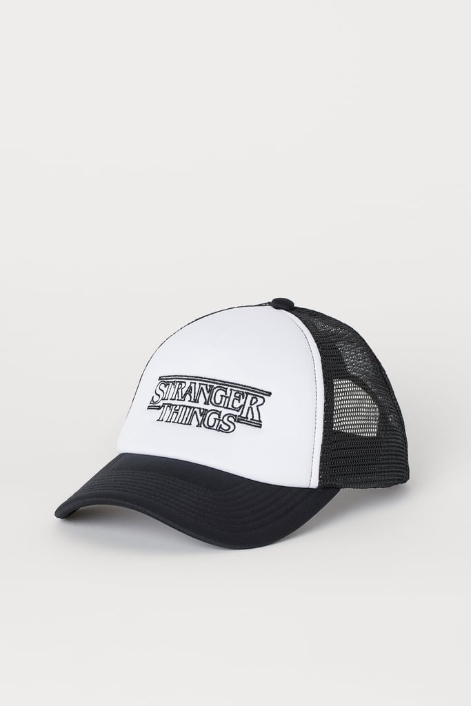 Stranger Things x H&M Cap With Printed Design