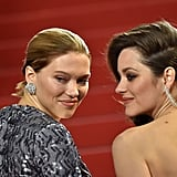 She and Lea Seydoux Showed Off Their Stunning Jewels