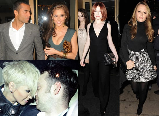 Photos Of Girls Aloud - Cheryl and Ashley Cole Nicola Roberts Sarah Harding - at Nobu. Plus The Loving Kind Video
