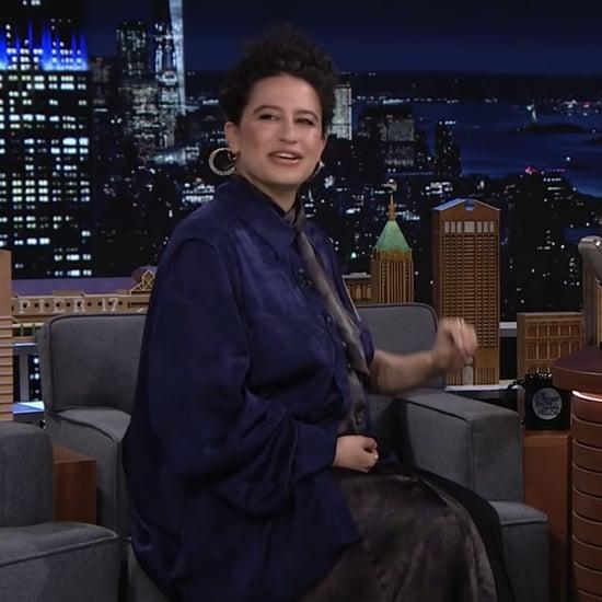 Ilana Glazer Talks About Pregnancy With Jimmy Fallon | Video