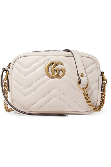 a0d454207 Gucci GG Marmont Camera Small Quilted Leather Shoulder Bag ...