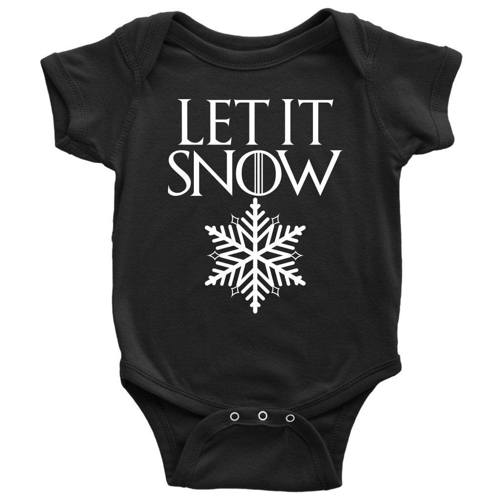 Let It Snow Game of Thrones Onesie