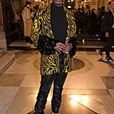 Billy Porter at the Halpern Fall 2020 Show