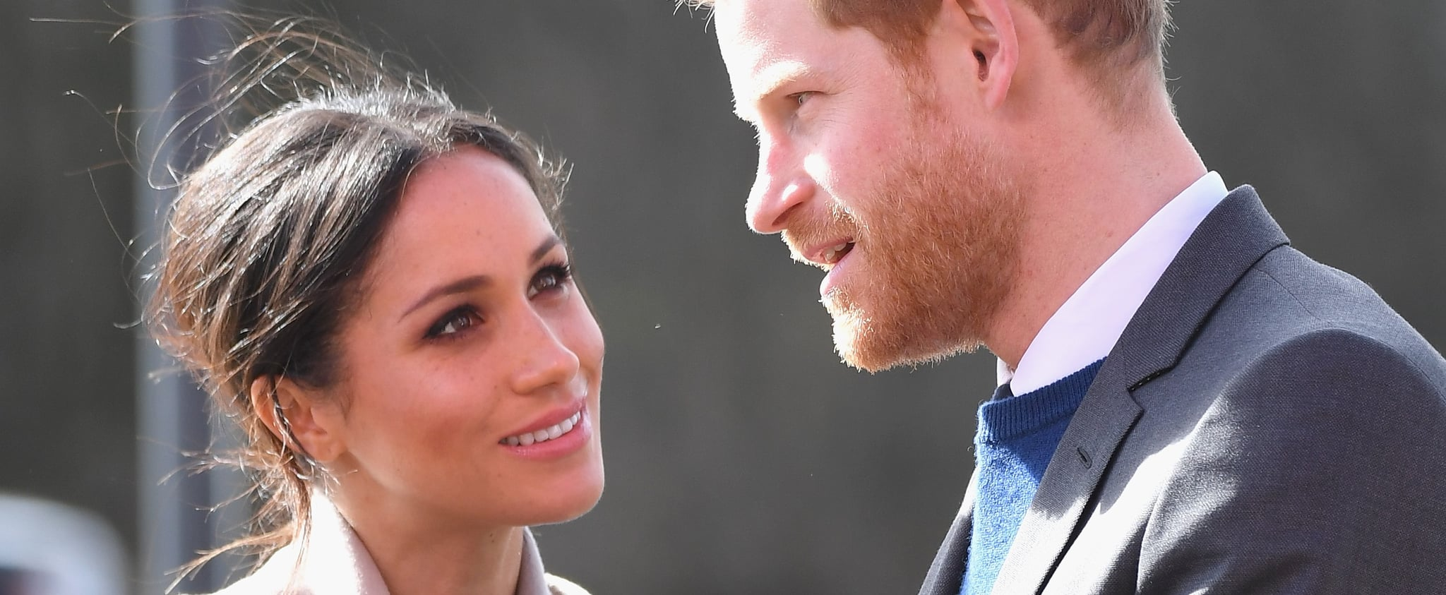 Prince Harry and Meghan Markle Have the Look of Love on Their Trip to Northern Ireland