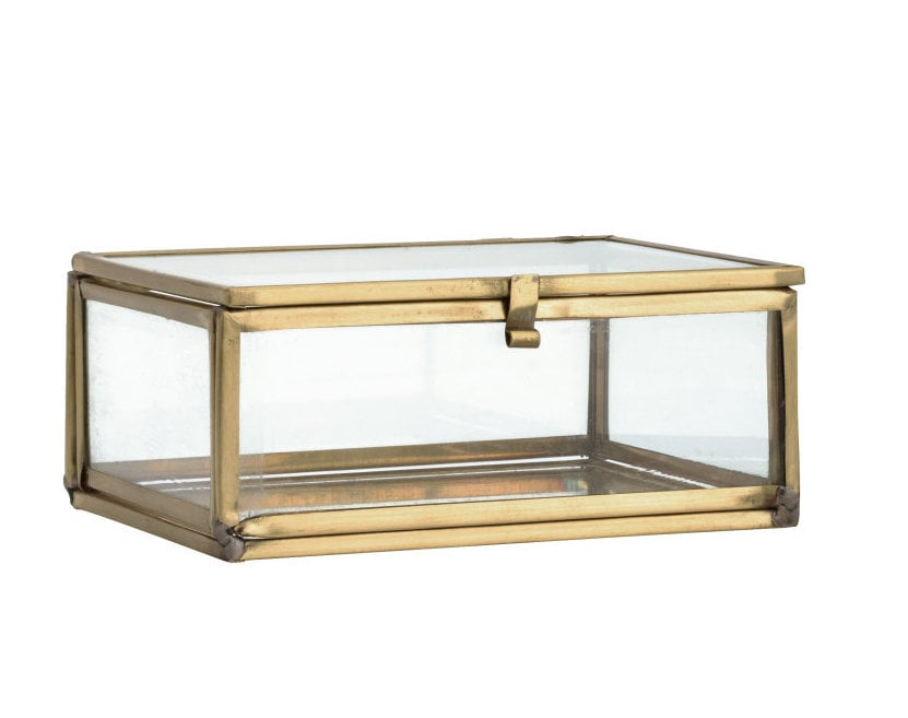H&M Small Clear Glass Box
