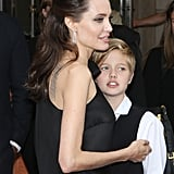 In September 2017, Angelina celebrated the premiere of First They Killed My Father at the Toronto Film Festival with Shiloh and the rest of her family by her side.