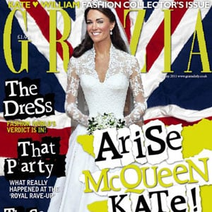Kate Middleton Grazia Magazine Cover