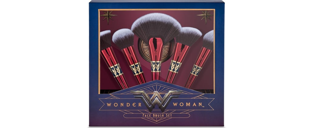 You're Going to Geek Out Over These Wonder Woman Makeup Brushes