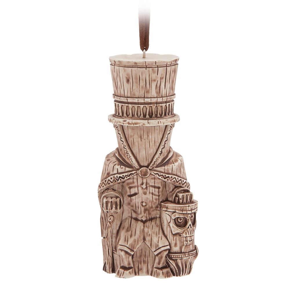 Hatbox Ghost Trader Sam's Enchanted Tiki Bar Ornament — Disneyland