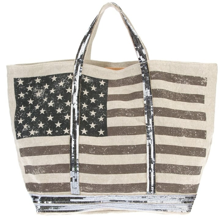 Vanessa Bruno American Flag Tote