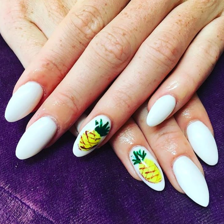 - Pineapple Nail Art Ideas POPSUGAR Beauty