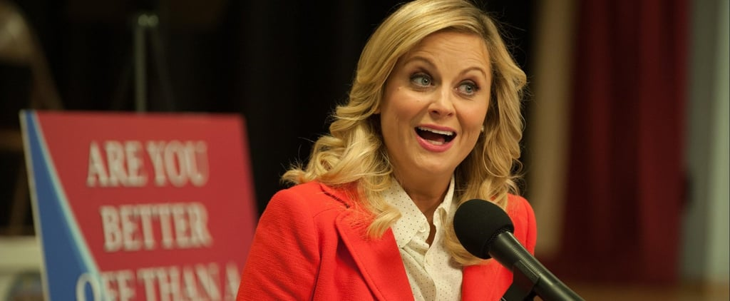 The Cast of Parks and Rec Is Roasting the NRA For Using a Leslie Knope GIF