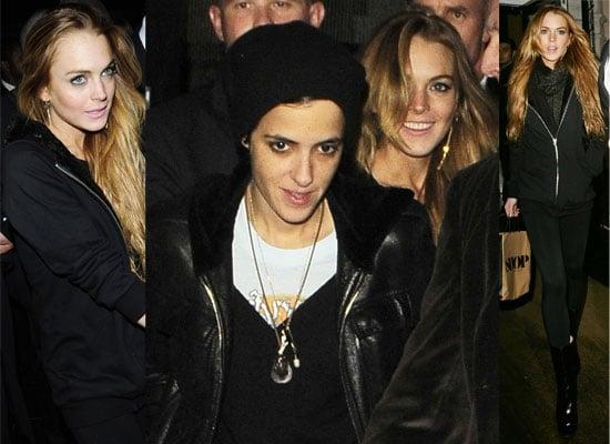 17/11/08 Lindsay Lohan and Samantha Ronson