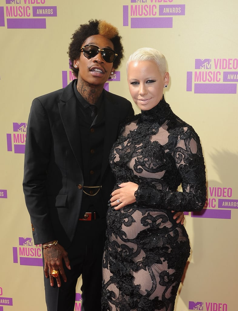 Wiz Khalifa and Amber Rose, 2012