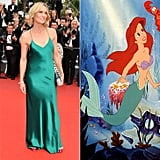 Robin Wright as Ariel From The Little Mermaid