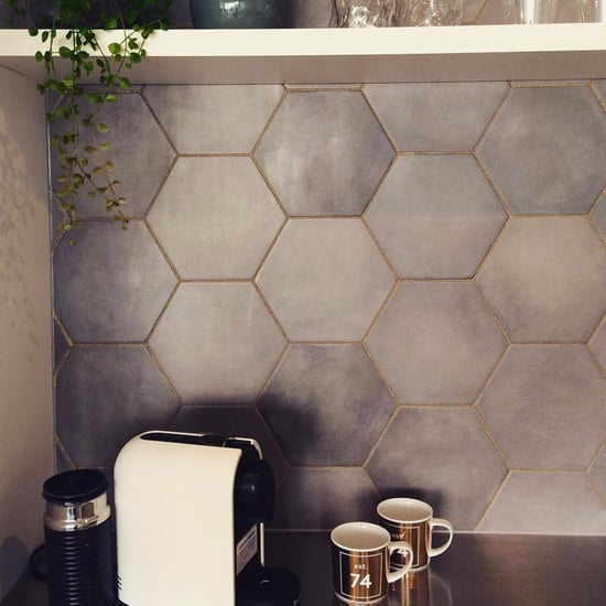 Glitter Grout Decor Trend