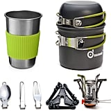 Odoland Camping Cookware Kit