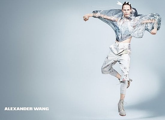 Alexander Wang and Elie Saab's Similar Spring 2011 Ads